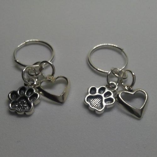 VB286 Dog Lovers earrings