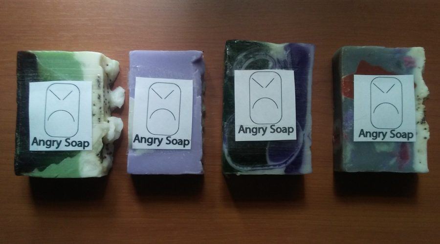 Introducing The Angry Soap Brand